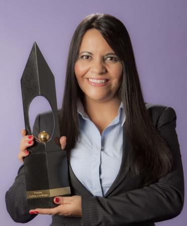 Ana Lucía López Salazar Mujer Cafam Valle del Cauca. ganadora Premio 2014